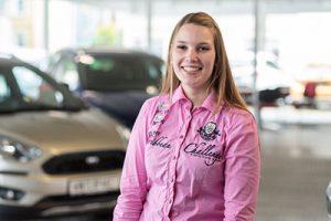 Klara Abraham - Automobilverkäuferin