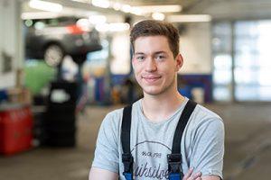 Pascal Schäffer - Ford-Service-Techniker