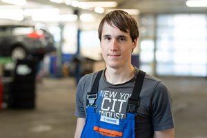 Nico Schwarz - Auszubildender Mechatronik